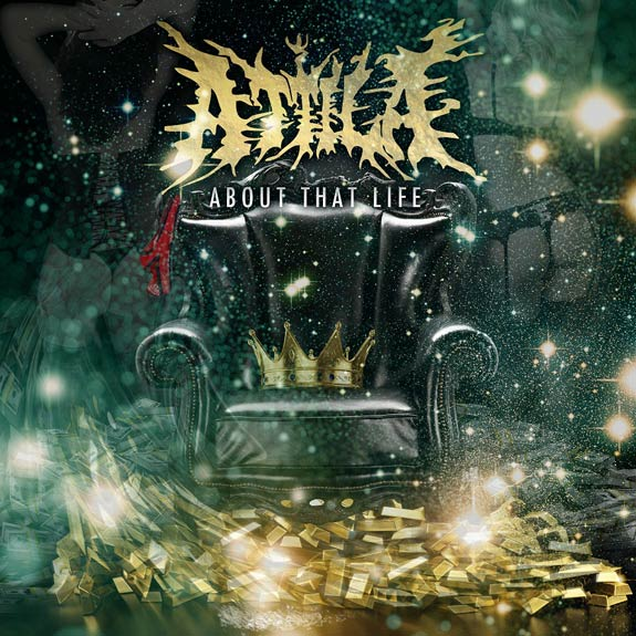 "News Added Apr 20, 2013 Metalcore outfit, Attila, headed by Chris ""Fronz"" Fronzak, is back with their fifth studio album. ""About That Life"" will be released June 25 on Artery Records during their run on the Van's Warped Tour. Submitted By Male Track list: Added Apr 20, 2013 1. Middle Fingers Up 2. Hellraiser 3. […]"