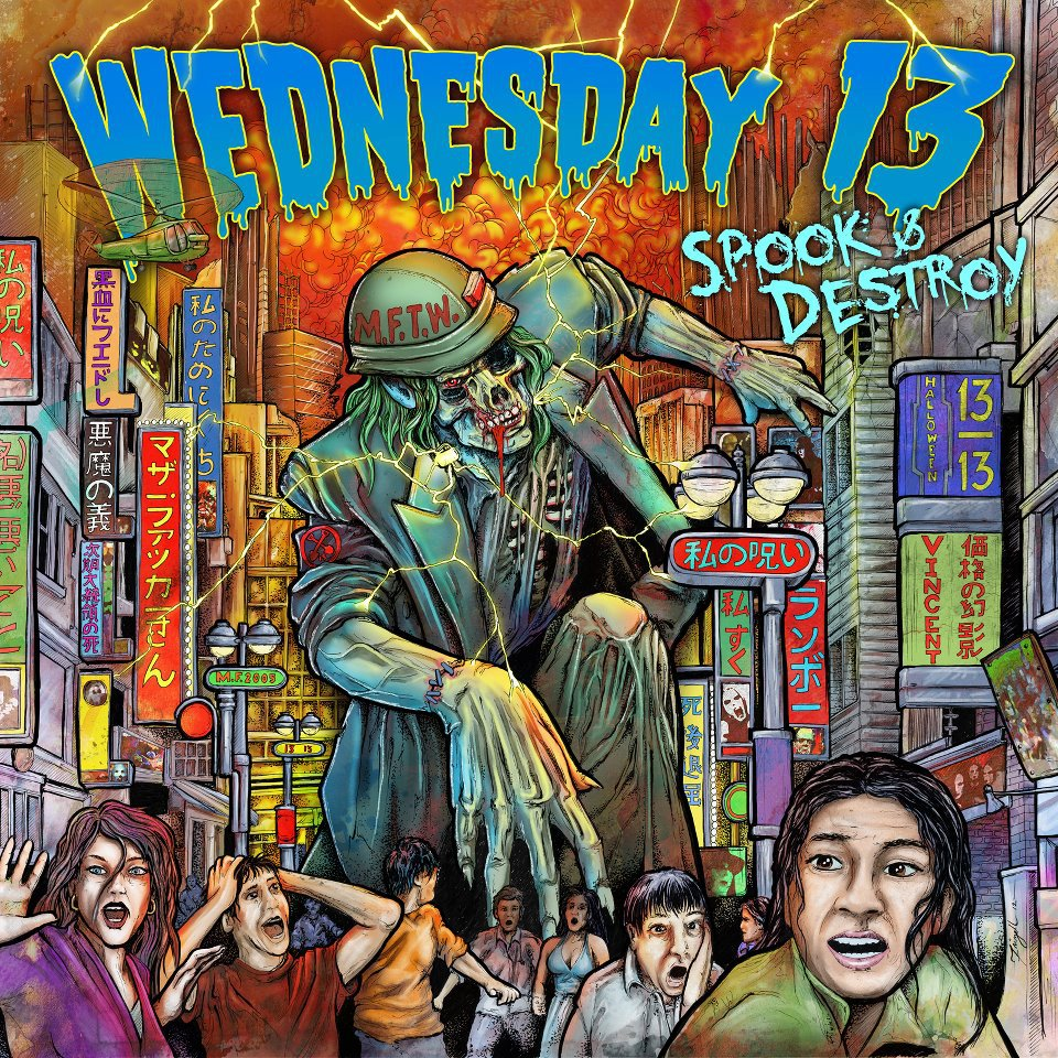 """News Added Aug 09, 2012 Horror punk rock band. Frontman Wednesday 13 recently entered the studio to begin recording the new EP, Spook & Destroy, perhaps making fun of a little Metallica song titled """"Seek & Destroy"""". Submitted By Nii Track list: Added Aug 09, 2012 n/a Submitted By Nii"""