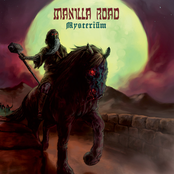 """News Added Jan 29, 2013 Manilla Road are preparing to release a new album next month and now Shadow Kingdom Records has made available online the brand new song """"The Grey God Passes"""" from Mysterium which you can listen to here. This is already the 16th album from the American heavy metal band. According to […]"""