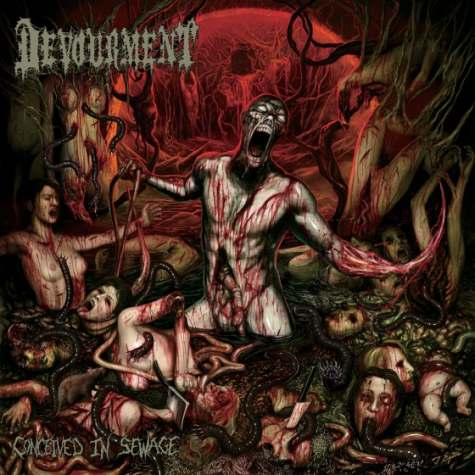 """News Added Jan 14, 2013 Devourment is a death metal band from Dallas, Texas. Formed in 1995, the band has split up and reformed three times and only one of the original members remain. The current lineup is Mike Majewski, Ruben Rosas, Chris """"Captain Piss"""" Andrews and Eric Park. The band is currently signed to […]"""
