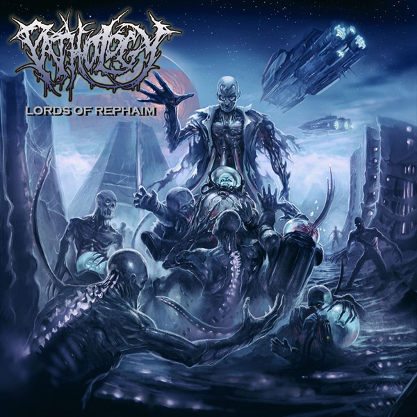 """News Added May 15, 2013 """"San Diego, California death metal band PATHOLOGY has announced their new album will be titled Lords Of Rephaim and will be released on September 3rd. The band has also revealed the cover art for the album, which was done by Par Olofsson."""" Retrieved from: http://www.metalunderground.com/news/details.cfm?newsid=91844 Submitted By JayR Track list: […]"""