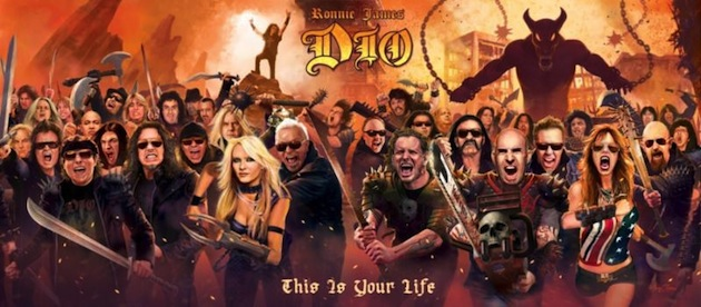 News Added Feb 17, 2014 In celebration of Dio's life and unparalleled career, many of rock and metal's biggest names have joined forces to record the ultimate tribute album, 'Ronnie James Dio: This is Your Life.' The metal legend passed away from stomach cancer in 2010, but the memory of Ronnie James Dio has not […]
