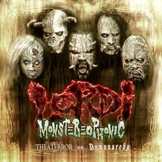 "News Added Aug 11, 2016 Finnish heavy metal monsters LORDI have set ""Monstereophonic: Theaterror Vs. Demonarchy"" as the title of their new album, due in Europe on September 16 and in the U.S. on September 30 via AFM Records. The follow-up to 2014's ""Scare Force One"" was produced by Nino Laurenne (APOCALYPTICA, STRATOVARIUS, CHILDREN OF […]"