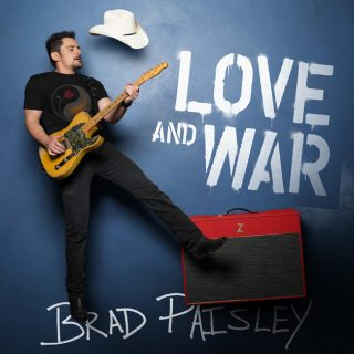 """News Added Mar 17, 2017 There's no denying Brad Paisley is one of the biggest stars in the modern era of Country music, and he will be releasing his tenth studio album """"Love and War"""" on April 21st, 2017, through Sony Music Entertainment. The album features collaborations with artists such as Mick Jagger, Timbaland, John […]"""