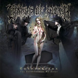 "News Added Jun 20, 2017 Cradle Of Filth requires very little introduction. Having endured significant changes throughout their years, both in style and members, Cradle Of Filth still managed to maintain a big influence on the (symphonic black) metal scene in general. ""Cryptoriana: The Seductiveness Of Decay"" will mark their 12th full-length album, set to […]"