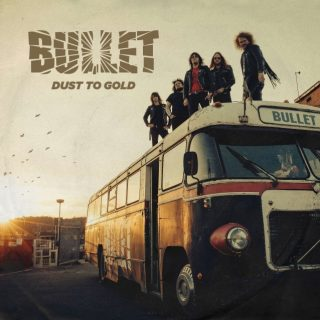 News Added Jan 26, 2018 Swedish metallers Bullet are back with a follow-up to 2014's massive 'Storm of Blades' entitled 'Dust To Gold'. Containing 12 brand new tracks and led by shrieking frontman Hell Hoffer, the Accept-meets-AC/DC band shows no signs of slowing down. Highlighting a busier tour schedule, the band says they really took […]