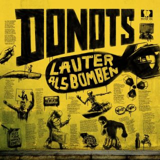 "News Added Jan 12, 2018 Punk Rock / Alternative Rock band Donots are gearing up to release their thrilling 16-track album, ""Lauter Als Bomben,"" out on January 12th, 2018. Donots plans to drop the upcoming album via Solitary Man Records. Originially from Ibbenbüren, Germany, Donots can be compared to the sound of other German punk […]"