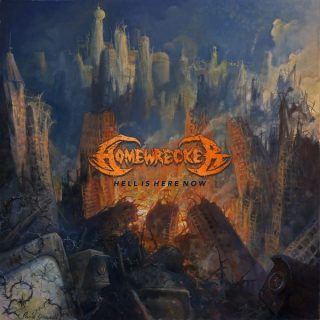 """News Added Apr 26, 2018 Hardcore, Thrash Metal artist Homewrecker plan to release their new 12-track album, """"Hell Is Home Now,"""" out on April 27th, 2018. Homewrecker is releasing the new record via Good Fight Music. Based in Ashtabula, Ohio, Homewrecker can be compared to the sound of Blistered and Forced Order. Discover the sound […]"""