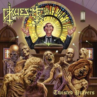 News Added Apr 05, 2018 Second full-length 'Twisted Prayers' is out June 1st on CD/LP/CS/Digital on Relapse Records. Check out all available music and merch! Physical Pre-Orders/Deluxe Bundles: bit.ly/GruesomeTP Digital Downloads/Streaming: smarturl.it/GruesomeTP Recorded with producer Jarrett Pritchard (Exhumed, 1349, Goatwhore) at New Constellation Studios in Orlando, FL. Artwork by the legendary Ed Repka Illustration (Death […]