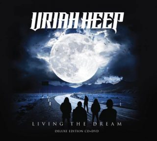 "News Added Jun 07, 2018 Legendary British hard rockers return with their 25th solo album ""Living The Dream"" on September 14th thanks to Frontier Music Srl. The album once again features longtime Heep vocalist Bernie Shaw and Mick Box on lead guitar. Their lead single ""Grazed By Heaven"" was written by famed rock vocalist Jeff […]"