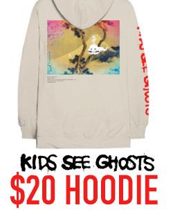 Kids See Ghosts hoodie