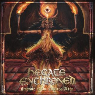 """News Added Nov 28, 2018 U.K.-based blackened death metal group HECATE ENTHRONED will release """"Embrace Of The Godless Aeon"""", its first album in five years (and its debut for new label M-Theory Audio), on January 25, 2019. The LP — which features cover artwork by Nestor Avalos (BLOODBATH, ROTTING CHRIST, THE BLACK DAHLIA MURDER) — […]"""