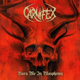 News Added Dec 07, 2018 Symphonic deathcore merchants, Carnifex, have released a brand new EP entitled Bury Me In Blasphemy. The EP was mixed by Jason Suecof and artwork was created by Zack Dunn. Fans can now stream the release on all fine streaming platforms. It is available to purchase physically as a limited cassette […]