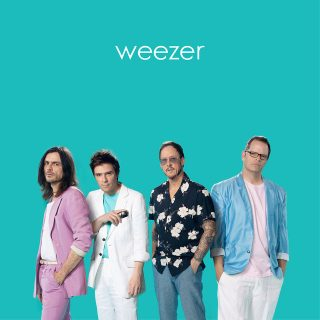 """News Added Jan 24, 2019 Even though 'The Black Album' is only weeks away, Weezer has just released the surprise LP 'The Teal Album'. The record itself is a collection of (mostly '80s) covers featuring fan favourite """"Africa"""", their version of the Toto classic. Physical copies of the LP are available at Weezer's online store. […]"""