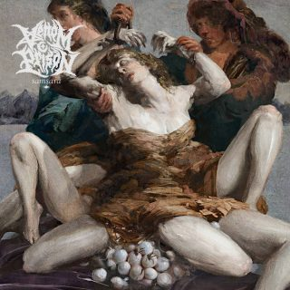 """News Added Feb 16, 2019 Ahead of their upcoming album Samsara, U.K. death-metal rabble rousers Venom Prison have unleashed a vicious new song titled """"Uterine Industrialisation"""" and accompanied it with a stomach-churning video to highlight the violent nature and traumatic effect of forced pregnancy. Vocalist Larissa Stupar takes center stage in the clip as a […]"""