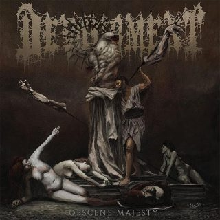 """News Added Jul 08, 2019 Slam icons Devourment have returned with Obscene Majesty, their first new album since 2013. The record comes out Aug. 16 on Relapse Records. A cacophony of steam hammer blasts, flattening breakdowns and gurgled vocals, """"Cognitive Sedation Butchery"""" is a testament to Devourment's legacy of brutality and their status as enduring […]"""