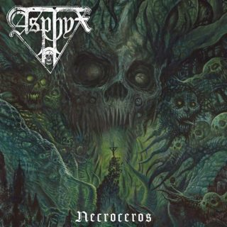 """News Added Oct 28, 2020 Dutch death doom elite ASPHYX will release its 10th studio album, """"Necroceros"""", on January 22, 2021 via Century Media Records. The LP was recorded at Tom Meier's Tom Meier Studio and at Paul Baayens's The Mörserstudio, and mixed and mastered by Sebastian """"Seeb"""" Levermann at Greenman Studios. It once again […]"""
