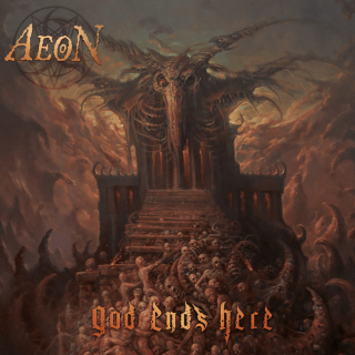 News Added Aug 20, 2021 AEON have announced a new album! Titled God Ends Here, the upcoming album from the Swedish death metal band is the long-awaited follow-up to 2012's Aeons Black and is scheduled to be released in October this year, via Metal Blade Records. With nine years between records, the main reason for […]