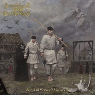 """News Added Oct 12, 2021 Finnish cult black/epic metallers DARKWOODS MY BETROTHED, who feature in their ranks NIGHTWISH keyboardist Tuomas Holopainen, have released the official lyric video for their latest single, """"Murktide And Midnight Sun"""". The track is taken from DARKWOODS MY BETROTHED's upcoming full-length album, """"Angel Of Carnage Unleashed"""", which will be released on […]"""