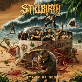 News Added Oct 06, 2021 Dive into the weird, wacky, weed infused world of German Party Slammers - STILLBIRTH. Bringing a huge Sleep/Sabbath Drenched flavour to their special brand of Brutal Slamming Death Metal, this special EP, 'Strain of Gods' is a pseudo surfing adventure in the insane STILLBIRTH universe. Optional Cannabis advised!. Submitted By […]